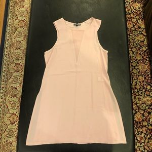 Express XS pink tank top blouse